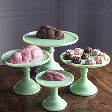 Eclectic Dessert And Cake Stands by re-foundobjects.com