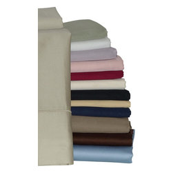 "Bed Linens - Pillow cases Pair 550 Thread count Solid Egyptian cotton, King, Chocolate - 550 Thread count single ply *100% Egyptian cotton, Sateen Weave. *4"" Hemming with Piping * Solid Size:"