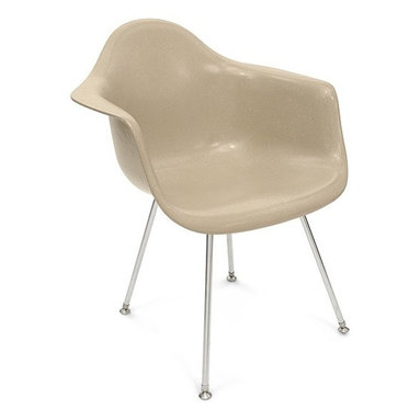 Modernica H Base Arm Shell Chair - The Case Study Fiberglass H-Base Chair is a classic icon without any fuss. Pick your favorite shell for a visually solid chair that will not disappoint.
