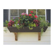 Traditional Outdoor Planters by Etsy