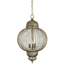 Currey & Company 9137 3 Light Giltspur Large Pendant