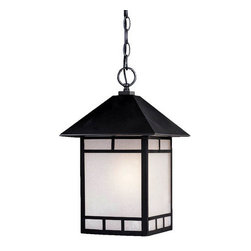 "Acclaim Lighting - Acclaim Lighting 9026 Artisan 1 Light 16"" Height Outdoor Pendant - Acclaim Lighting 9026 Artisan One Light 16"" Height Outdoor PendantThis outdoor pendant from the Artisan Collection features a design inspired by the Craftsman style.Acclaim Lighting 9026 Features:"