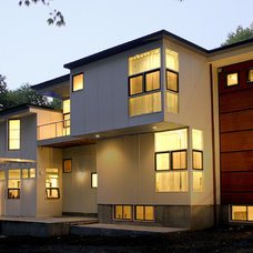 Modern Exterior by Light House Design