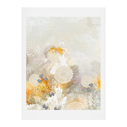 DENY Designs - DENY Designs Iveta Abolina White Velvet Art Print - Finally an affordable wall art option! Order one statement print or live on the edge and dream up an entire gallery wall. And whether you frame it or hang it as-is, your walls will be big on inspiration while being kind on your pocketbook.