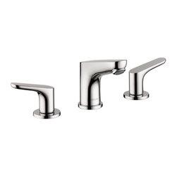 Hansgrohe - Hansgrohe Focus 100 Widespread Faucet, Chrome (04369000) - Hansgrohe 04369000 Focus S Widespread Faucet in Chrome