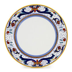 Artistica - Hand Made in Italy - Ricco Deruta: Charger Buffet Platter - Ricco Deruta: This product is part of the renown Ricco Deruta Collection.