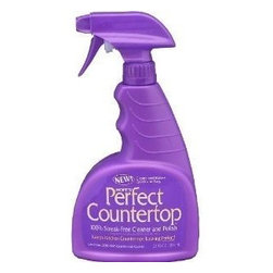 Hope - Hope Appliance Perfect Countertop Cleaner 22 Oz - 6 Pack - Hopes Perfect Countertop is a new, 100% streak-free cleaner and polish specifically developed for those who are frustrated with the streaks and excessive rubbing associated with ordinary polishes. Thanks to its unique formula, Hopes Perfect Countertop produces a deep shine almost immediately leaving laminate, solid surface, granite, stone, and tile countertops looking perfect. 100% Streak Free Cleaner and Polish . Great for laminate, solid surface, granite, stone, and tile countertops . Spray surface and wipe with paper towels. Buff off excess . Great for everyday cleanups . Easy to use pump spray .