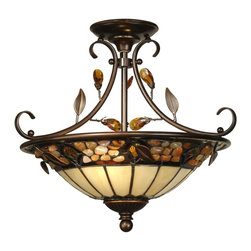 Dale Tiffany - New Dale Tiffany 2-Light Chandelier - Product Details