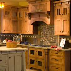 Traditional Kitchen Cabinetry by Stanisci Design & Manufacturing