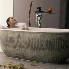 Eclectic Bathtubs by aquamass.com