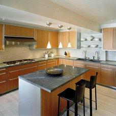 Contemporary Kitchen by Robert Wilkanowski Architect, PC