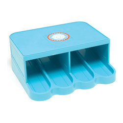 PRK Products, Inc. - PRK Universal Baby Food Jar Organizer, Turquoise - 1 piece unit