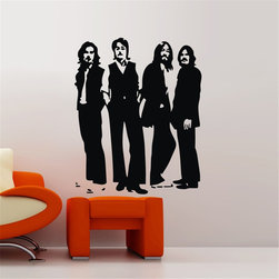 ColorfulHall Co., LTD - Cheap Wall Decals Beatles Sticker For Fans Kid Boys Girls Bedroom - Cheap Wall Decals Beatles sticker for fans kid boys girls bedroom
