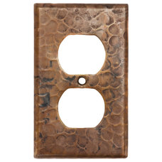 Rustic Switch Plates And Outlet Covers by Lucido Copper