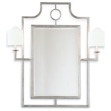 Transitional Wall Mirrors by Kathy Kuo Home