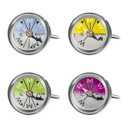 "Rosle - Rosle Steak and Meat Thermometer - Set of 4 - Set of four (4) thermometers in four colours. Each of them has two functions: One for frying steaks and one for roasting specific types of meat such as Poultry, beef, lamb or pork. Easy to read display For use at the grill, in the frying pan and in the oven. Dishwasher safe. Dimensions: Total length: 2.6 in. (6.5 cm). Diameter: 1"" (2.5 cm)."