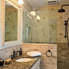 Mediterranean Bathroom by Simply Baths & Kitchens