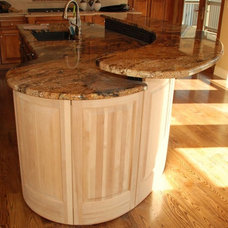 Traditional Kitchen Islands And Kitchen Carts by Belak Woodworking LLC
