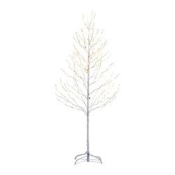 Lightshare - Lightshare Star Light Tree (Wihte): 10 LED Star Light, Warm White, 5ft 200 Light - Description: