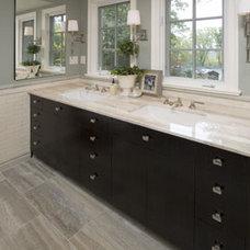 Contemporary Bathroom by Clawson Architects, LLC