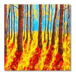 """JillianSuzanne.com - Illuminated - Illuminated : Oil on Canvas: 36"""" X 36"""""""