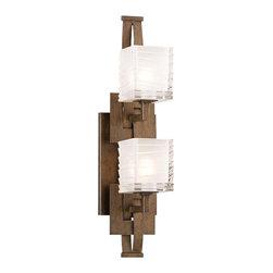 Troy Lighting - Jensen 2-Light Bath, Vertical - Jensen 2-Light Bath