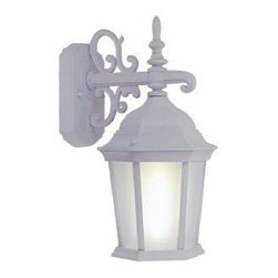 Livex Lighting - Livex Limited Energy Saving CF Outdoor Lanterns Outdoor Wall Lantern White -9023 - Livex products are highly detailed and meticulously finished by some of the best craftsmen in the business