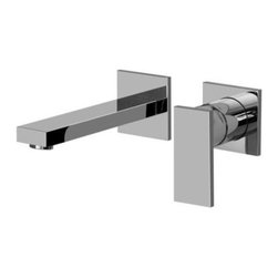 Graff - Graff - Solar Wall-Mounted Lavatory Faucet  -G-3735-LM31W-PC - w/Single Handle