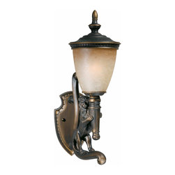 Triarch International - Triarch 75230-14-R Lion Oil Rubbed Bronze Outdoor Wall Sconce - Triarch 75230-14-R Lion Oil Rubbed Bronze Outdoor Wall Sconce