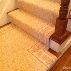 Traditional Staircase by Cheryl McCracken Interiors,Inc