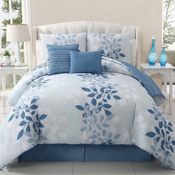 Ellory 5-piece Reversible Comforter Set