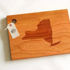 Custom State Cutting Board  (maple) - MT - This listing is for a large, customized cutting board. Have a favorite state that has a special place in your heart? What better way than to get it engraved onto a functional, yet always decorative kitchen cutting board! Give as a memorable wedding, anniversary, housewarming or holiday gift - or just order one for yourself! This cutting board is both functional and beautiful; it serves as a fun piece of handmade home decor.