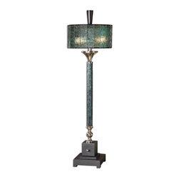 Uttermost - Uttermost 29658-1 Vedano Water Glass Buffet Lamp - Uttermost 29658-1 Vedano Water Glass Buffet Lamp