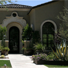 mediterranean exterior by Carson Poetzl, Inc.