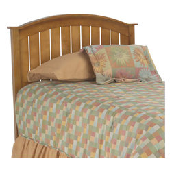Fashion Bed - Fashion Bed Finley Wood Headboard in Maple-Full/Queen - Fashion Bed - Headboards - 51L549 - The country styled Finley Headboard features wainscoted detailing and arched crown molding. Solid in appearance it is also warm and inviting reflecting Mission sensibilities but with a contemporary flair.