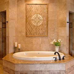 traditional bathroom by Karen Davis Design