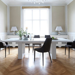 Dining Rooms | Smart Furniture - Contemporary yet simple, the Tundra Dining Table still has a chic presence.