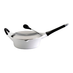"Berghoff - Berghoff Cast Covered Deep Skillet 11"" - 11"" covered deep skillet holds 4.5 Qts."