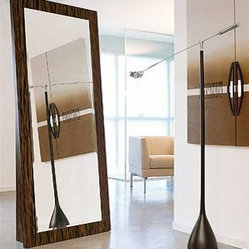 Webb Vertical Stand Alone Mirror By Doimo