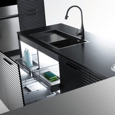Modern Kitchen Trash Cans by Haute Living