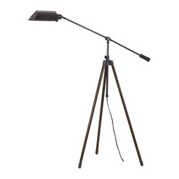 House of Troy - House of Troy Tripod Counterbalance Oil Rubbed Bronze Floor Lamp X-BO-572RT - House of Troy Tripod Counterbalance Oil Rubbed Bronze Floor Lamp X-BO-572RT