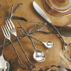 eclectic flatware by Heaven's Gate Home and Garden, LLC