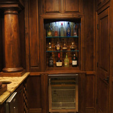Rustic Home Theater by Warner Audio & Video