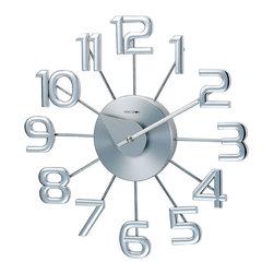 RR - Numerals Wall Clock - Numerals Wall Clock