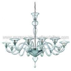Contemporary Chandeliers by Murano Glass Chandeliers