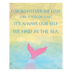 Oh How Cute Kids by Serena Bowman - Nautical for whatever We Lose, Ready To Hang Canvas Kid's Wall Decor, 20 X 24 - Each kid is unique in his/her own way, so why shouldn't their wall decor be as well! With our extensive selection of canvas wall art for kids, from princesses to spaceships, from cowboys to traveling girls, we'll help you find that perfect piece for your special one.  Or you can fill the entire room with our imaginative art; every canvas is part of a coordinated series, an easy way to provide a complete and unified look for any room.
