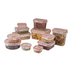 24-piece Lock and Seal Container Set with Lids