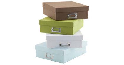 Modern Storage Boxes by See Jane Work