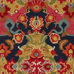 Nu Loom - Contemporary Barcelona 4'x6' Rectangle Multi Color Area Rug - The Barcelona area rug Collection offers an affordable assortment of Contemporary stylings. Barcelona features a blend of natural Multi Color color. Hand Tufted of 100% Polyester the Barcelona Collection is an intriguing compliment to any decor.