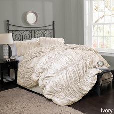 Lush Decor Silver Venetian 4-piece Comforter Set | Overstock.com Shopping - The
